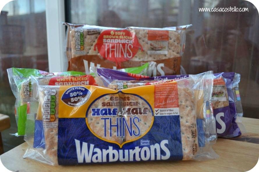 warburtons sandwich challenge