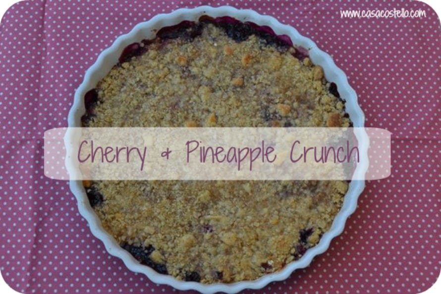 cherry pineapple crunch