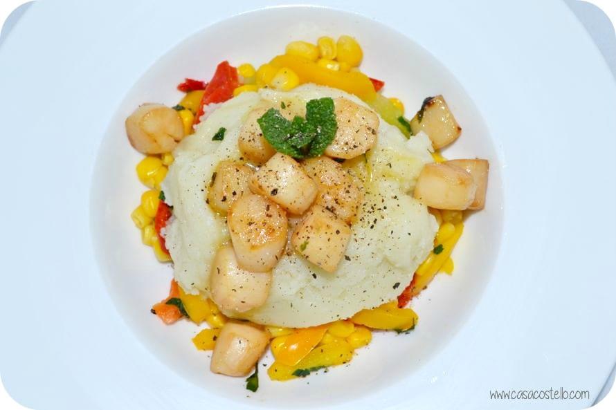 frozen scallops recipe #cookcookery