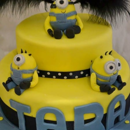 Minion Birthday Cake & Party – Bake of the Week