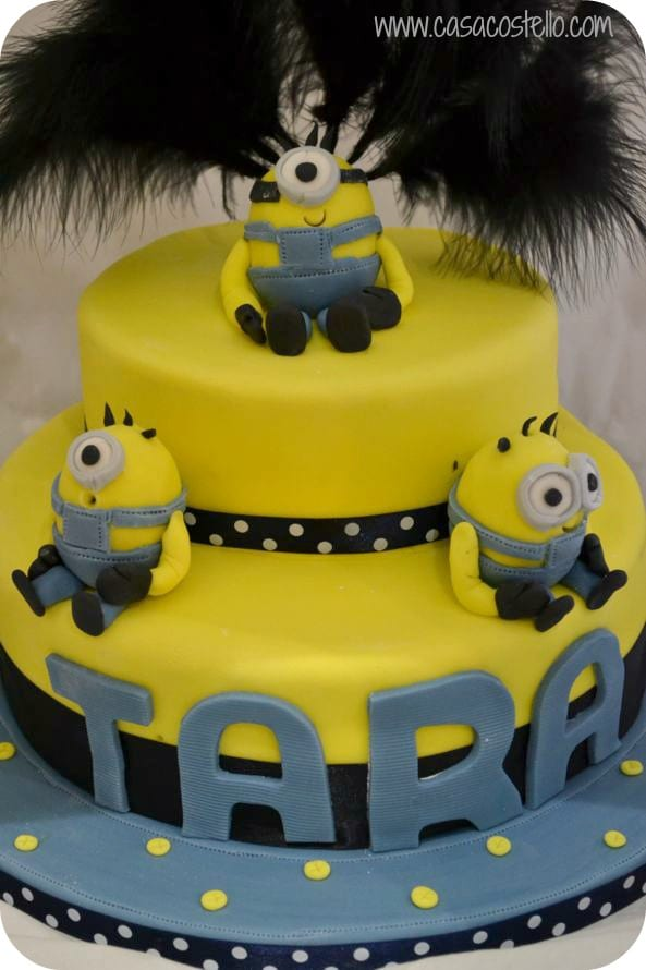 Incredible Minion Birthday Cake Party Bake Of The Week Casa Costello Funny Birthday Cards Online Eattedamsfinfo