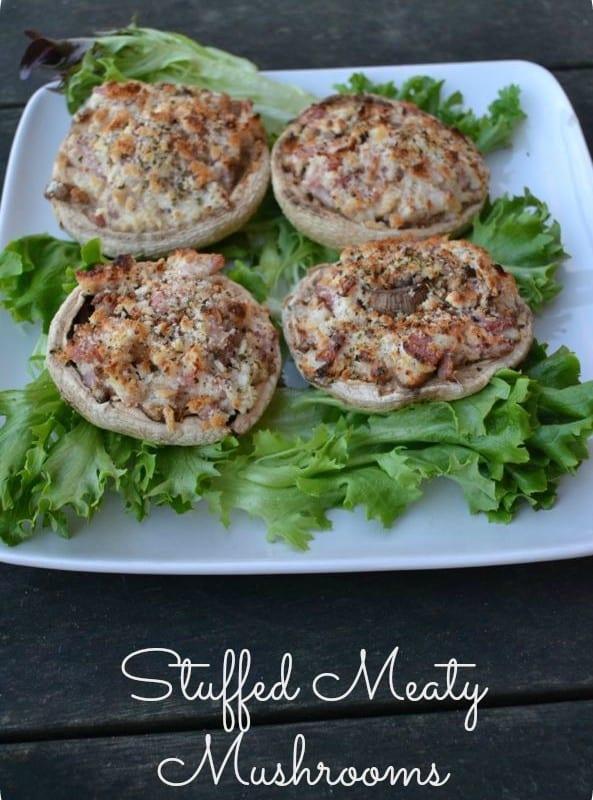 Stuffed Meaty Mushrooms – #FoodieFriday