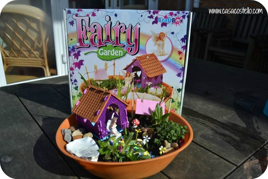 Merveilleux Interplay Fairy Garden Finished Product
