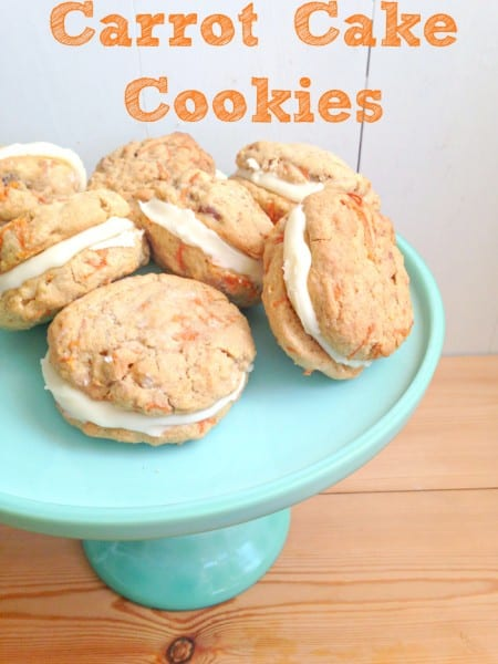 carrot cake cookies cream cheese frosting