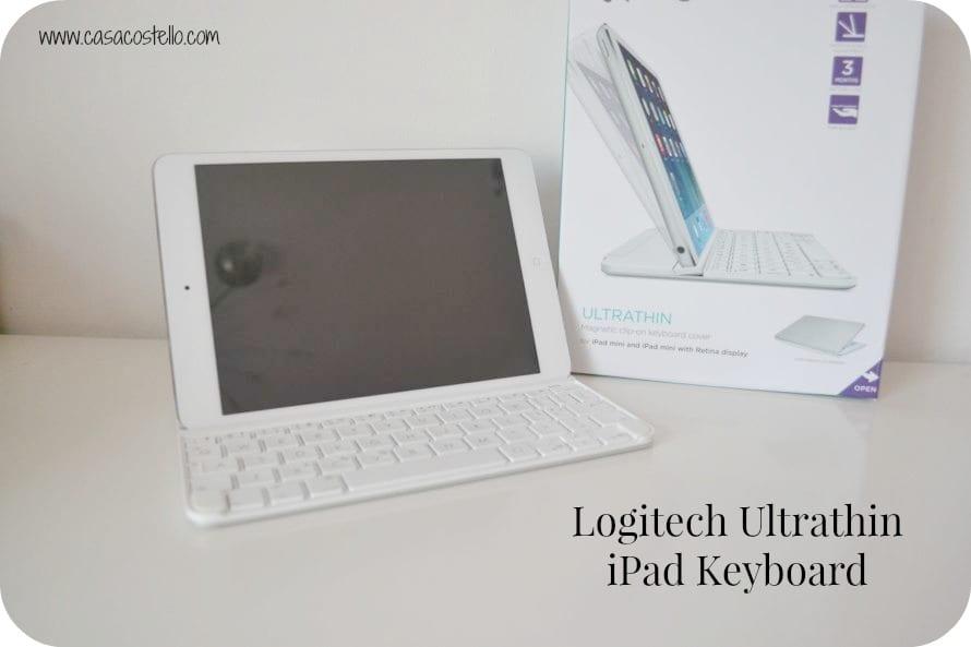 logitech ultrathin ipad keyboard review