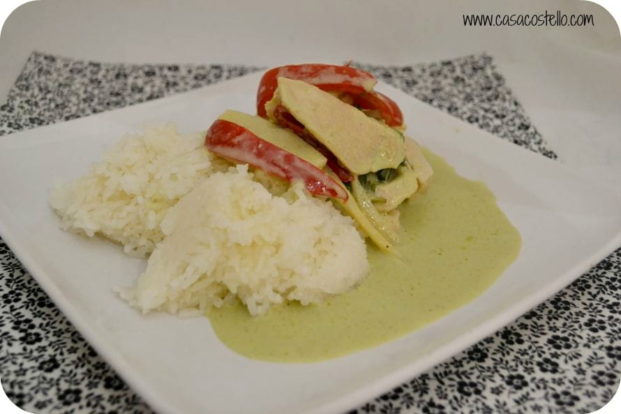 JUST EAT Thai Green Curry