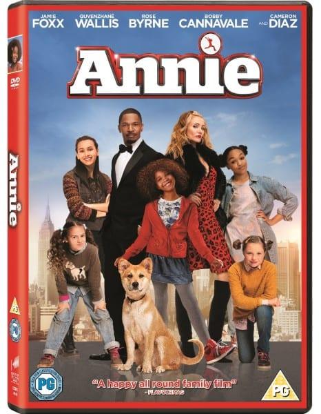 Annie Movie Sony DVD