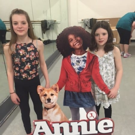 Annie Dance Workshop at Pineapple Dance Studios