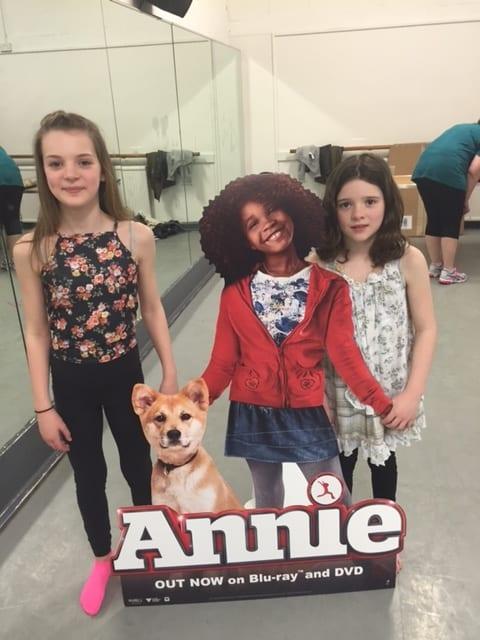Pineapple Dance Studio Annie Movie