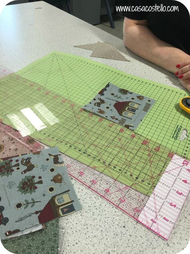 Cutting Out Patchwork