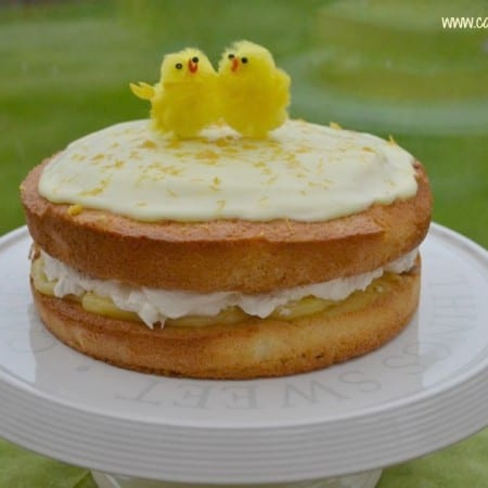 Lemon & Almond Easter Cake #FoodieFriday