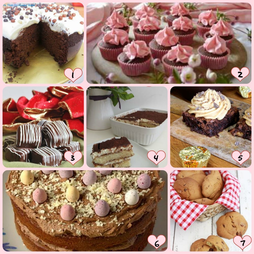 Bake of the Week Chocolate Entries