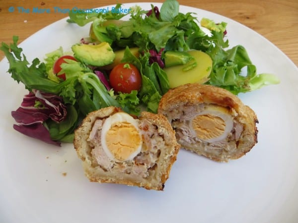 Mini Pork Pies with Quails Eggs