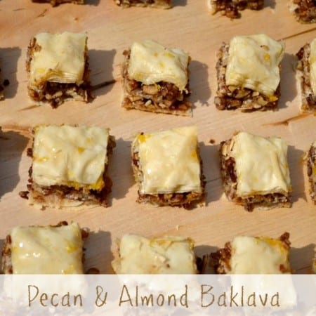 Pecan Almond Baklava