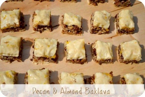 Pecan & Almond Baklava - Casa Costello