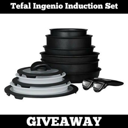 Tefal Ingenio Induction Set Giveaway worth £250