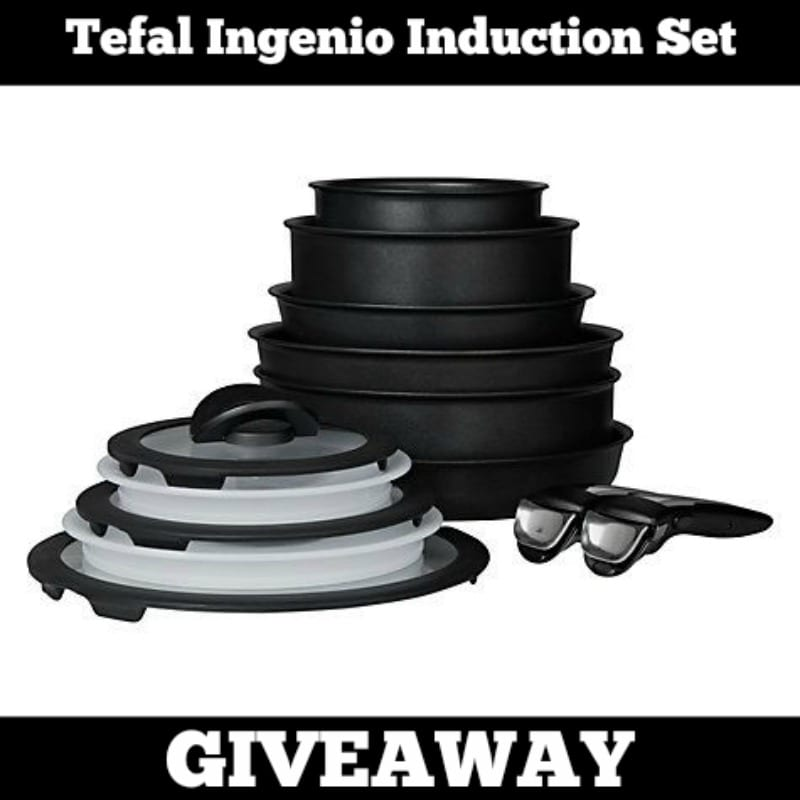 Tefal Ingenio Induction Set Giveaway