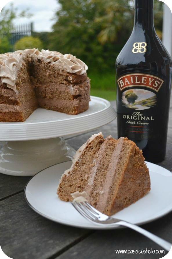 Baileys Chococcino Cheesecake Cake