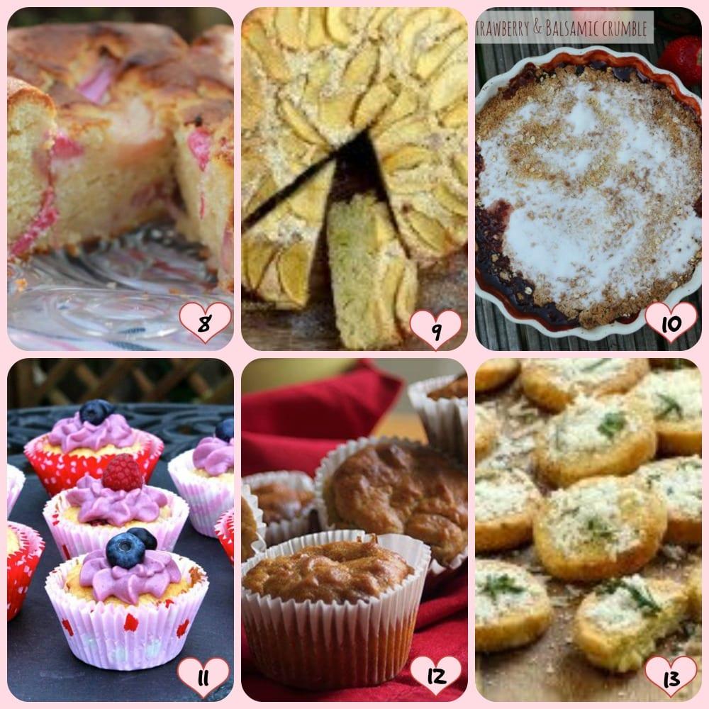 Bake of the Week various
