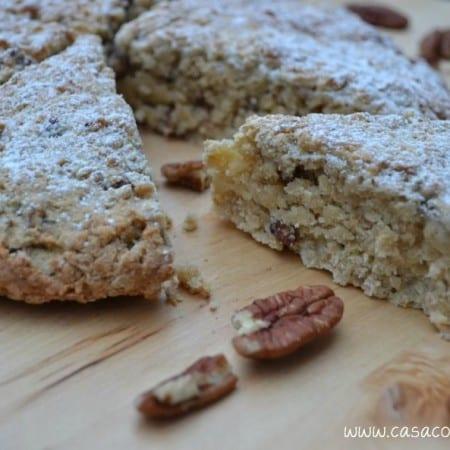 Glazed Maple Oat Pecan Scones – Secret Recipe Club May