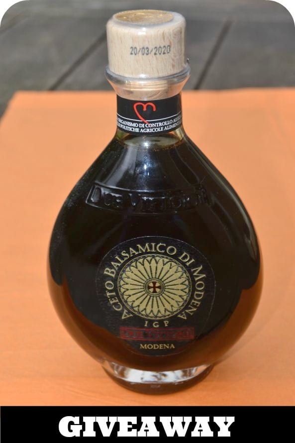 Due Vittorie Balsamic Vinegar Giveaway
