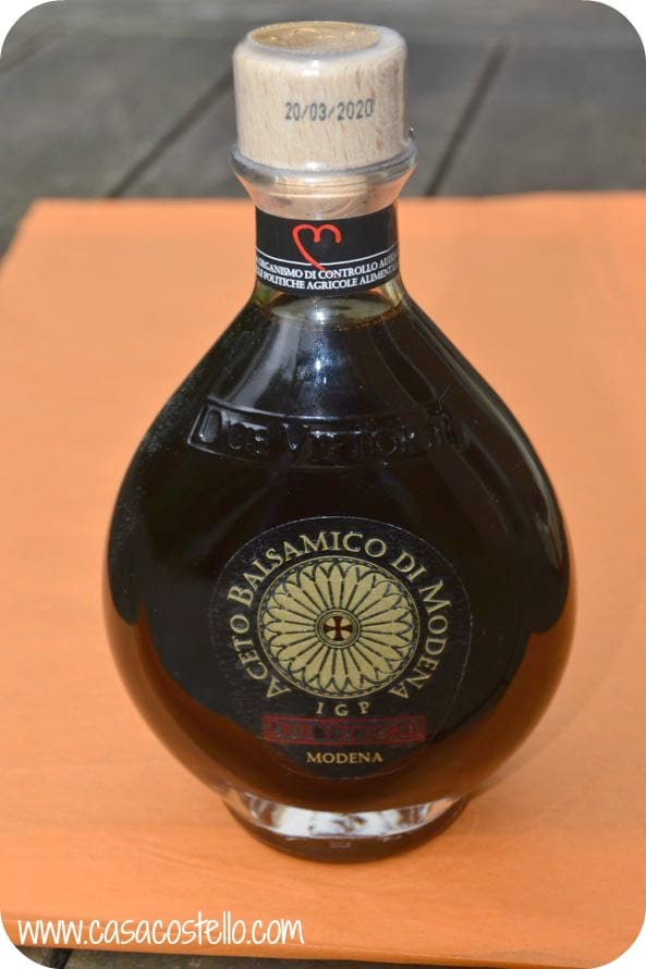 Due Vittorie Oro Balsamic Vinegar