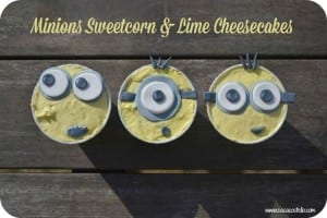 No Bake Sweetcorn & Lime Cheesecakes