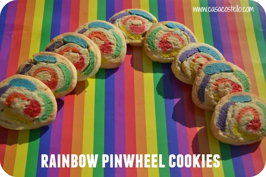 Rainbow Pinwheel Cookies Recipes — Dishmaps