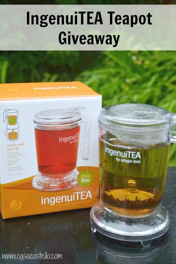 IngenuiTEA Teapot Giveaway