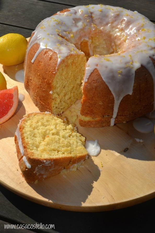 Grapefruit Cake Using Cake Mix