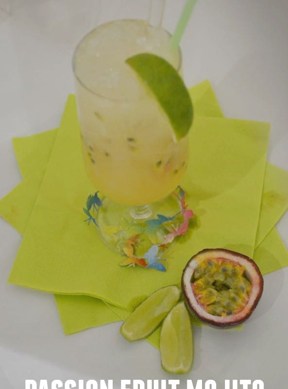 Passion Fruit Mojito (Mock or not!) – Secret Recipe Club