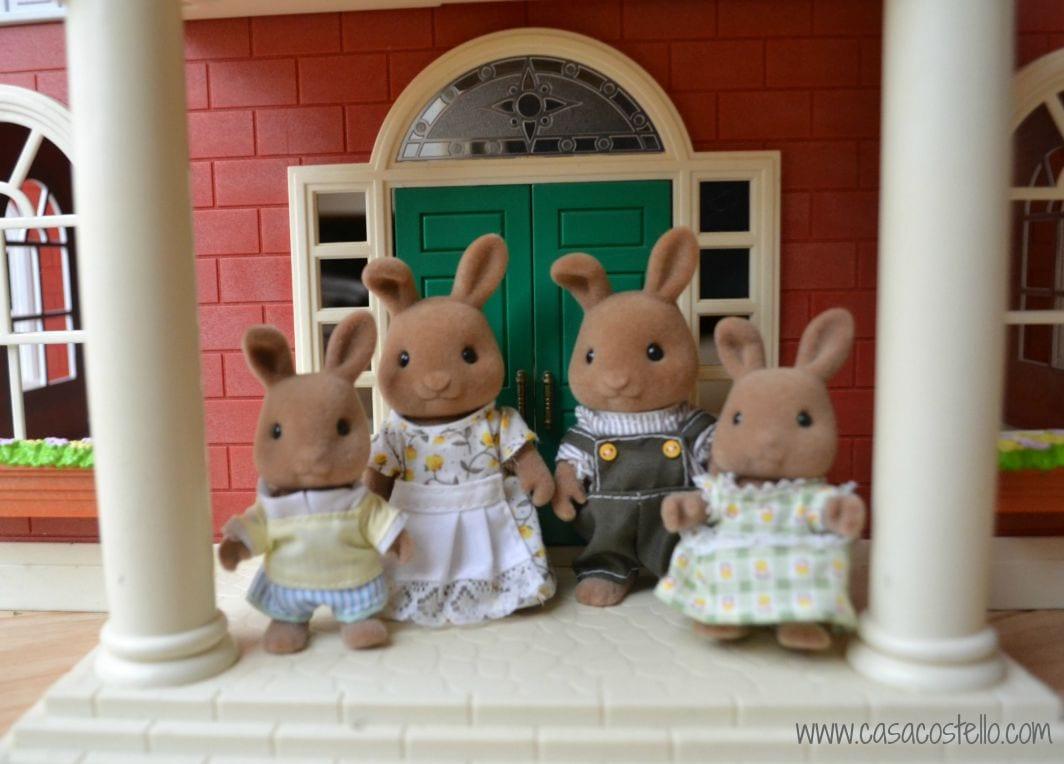 Dappledown Rabbit Sylvanian Family