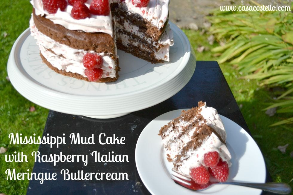 Mississippi Mud Pie Cake Bake of the Week