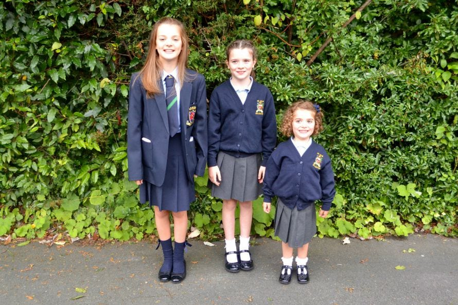 Tara starts school