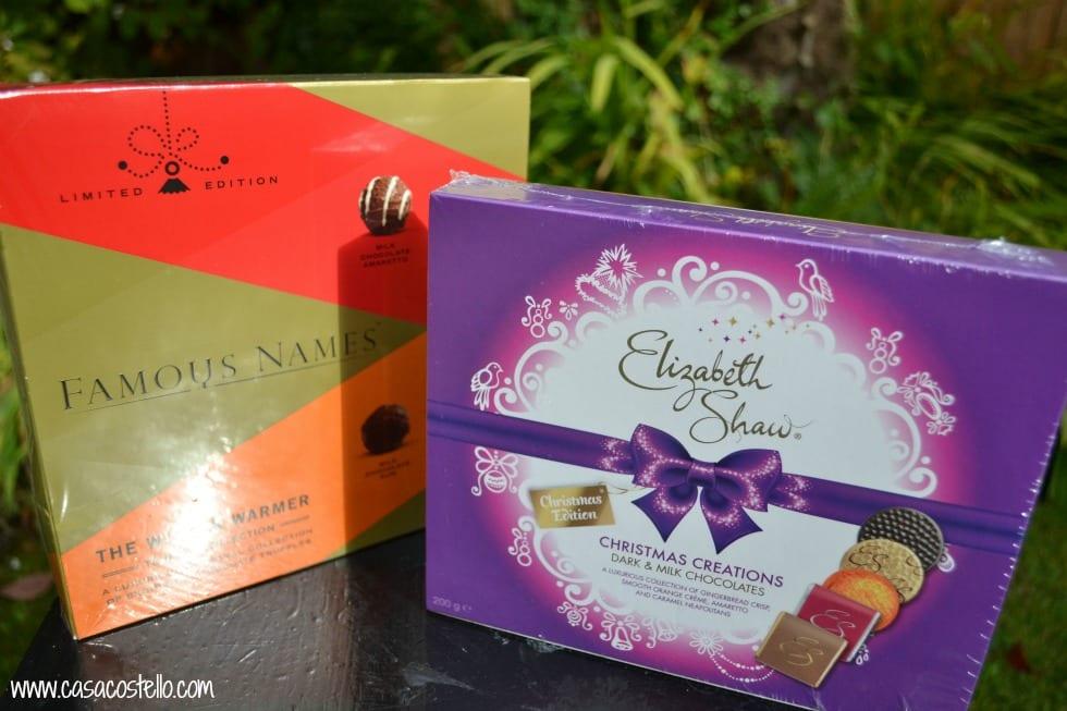 Elizabeth Shaw Christmas Chocolates