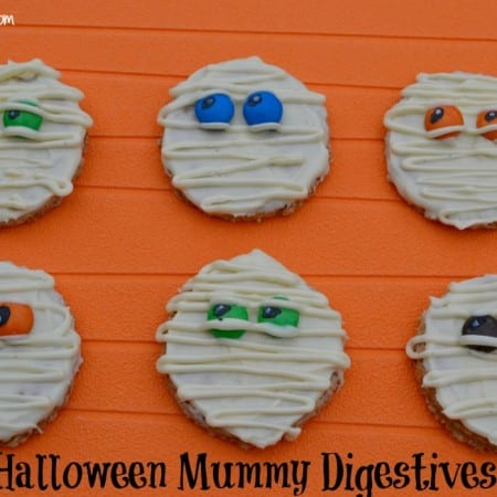 Homemade Digestive Mummies