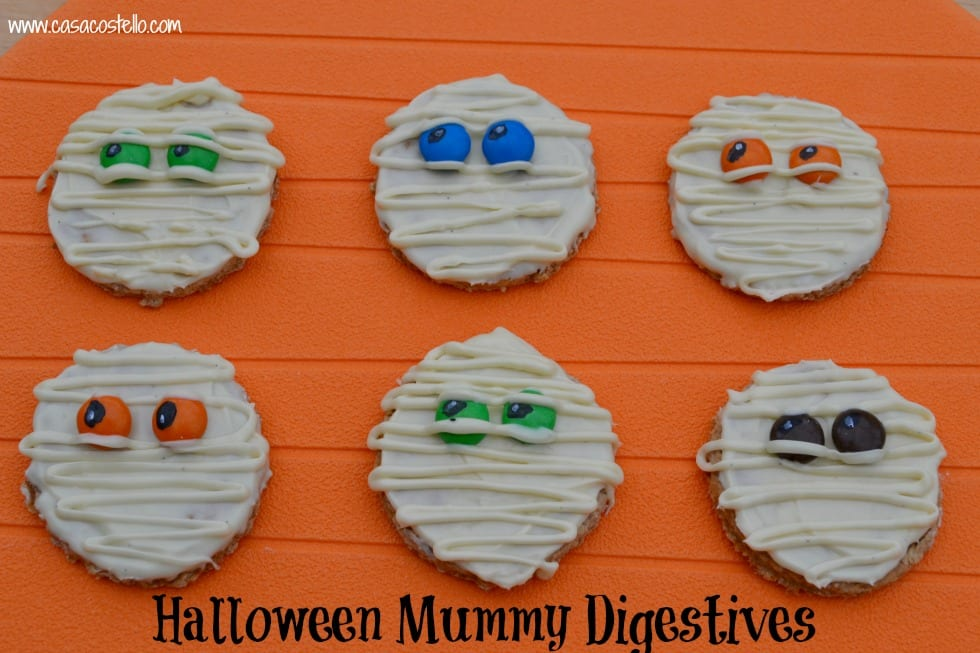 Halloween Mummy Digestives