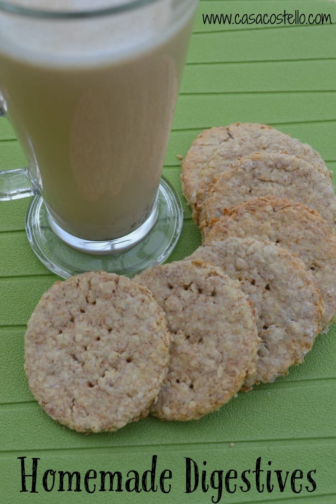 Homemade Digestive Biscuits Cookies
