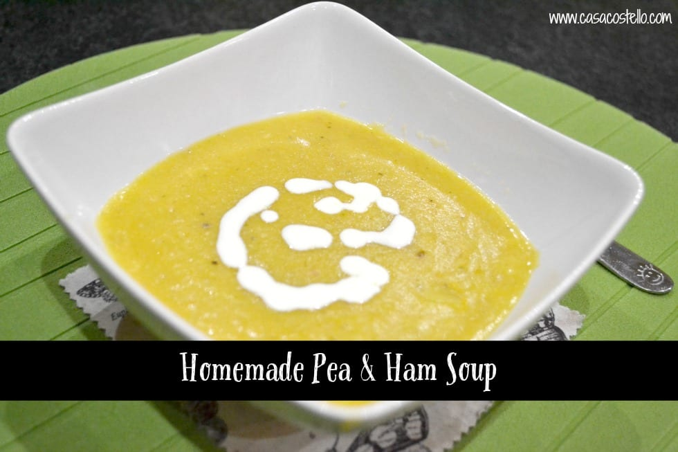 Homemade Pea & Ham Soup