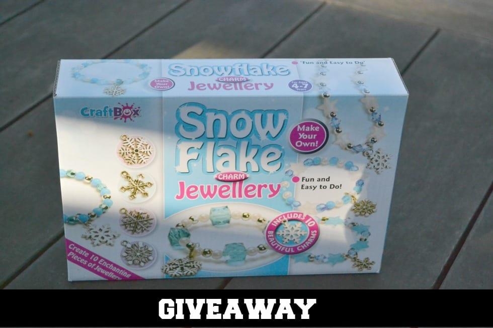 Interplay Snow Flake Jewellery Craft Set Giveaway