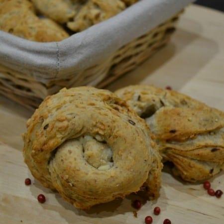Cheese & Pink Peppercorn Dinner Rolls – Bake of the Week