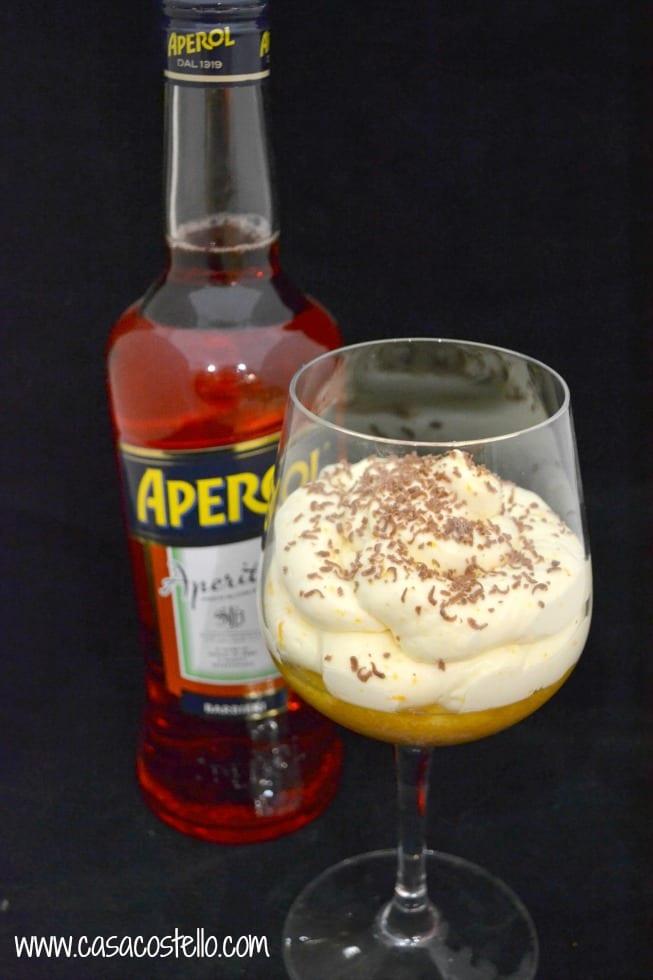 Aperol Mascarpone Trifle