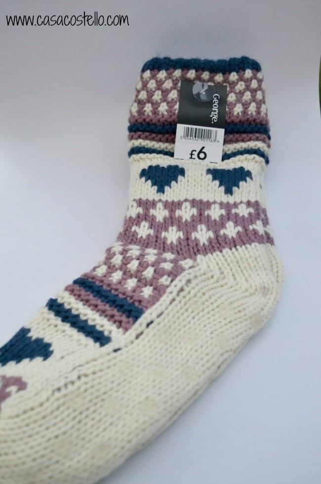 Slipper Socks George