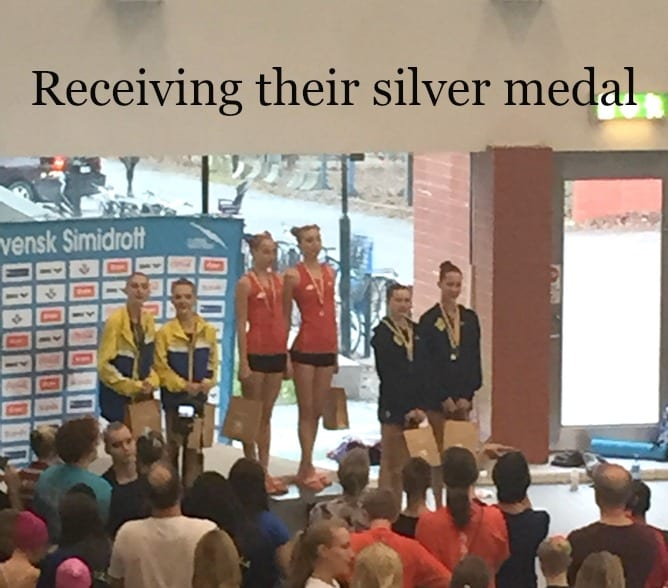 Sweden Medal Presentation