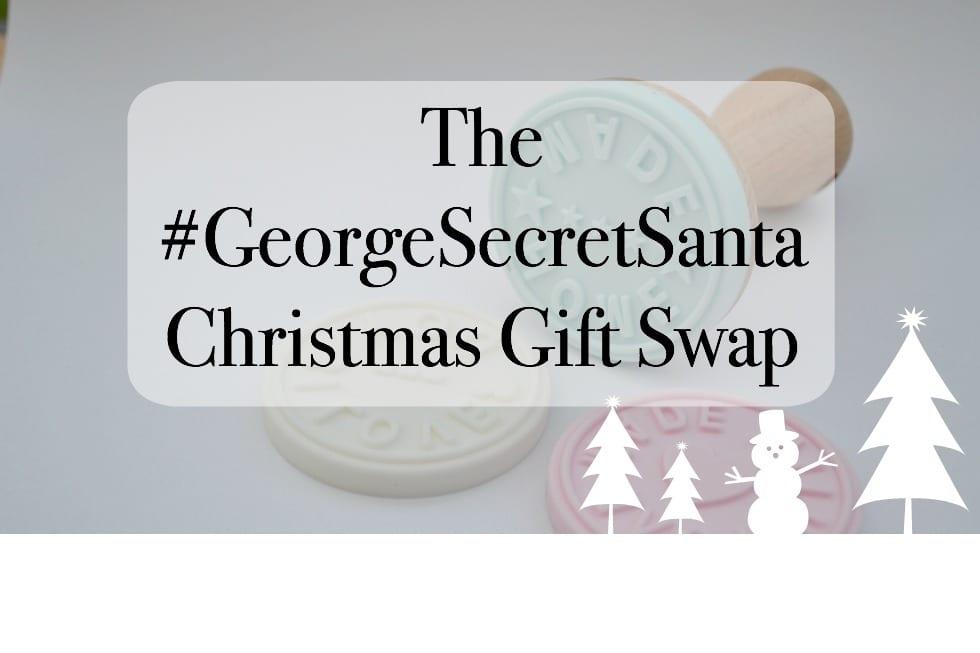 #georgesecretsanta gift swap