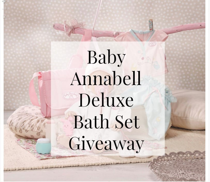 Baby Annabell Giveaway