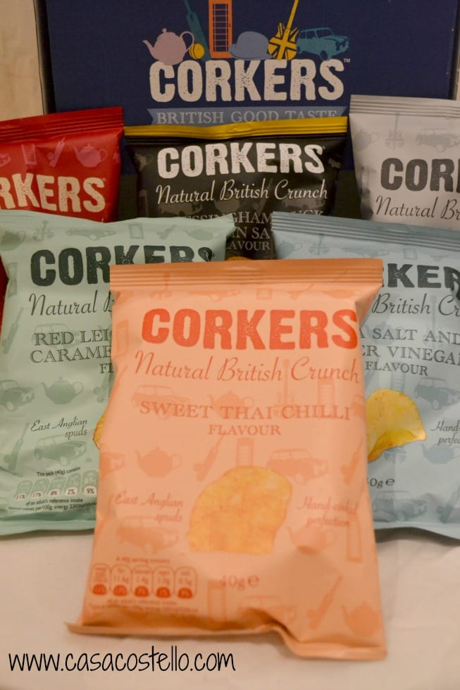 Corkers British Crisps Review