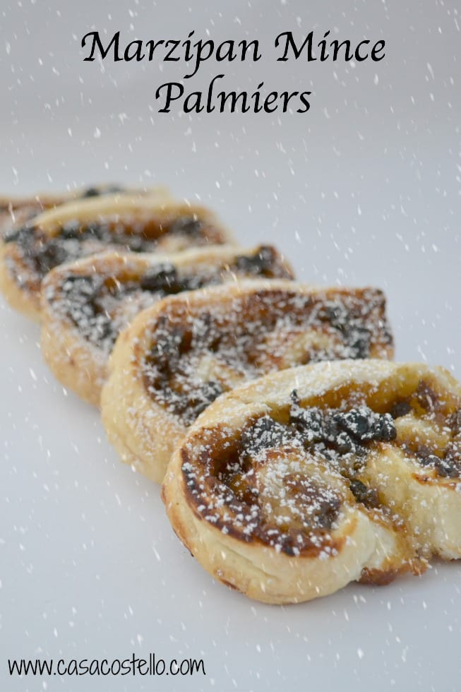 Marzipan Mince Palmiers
