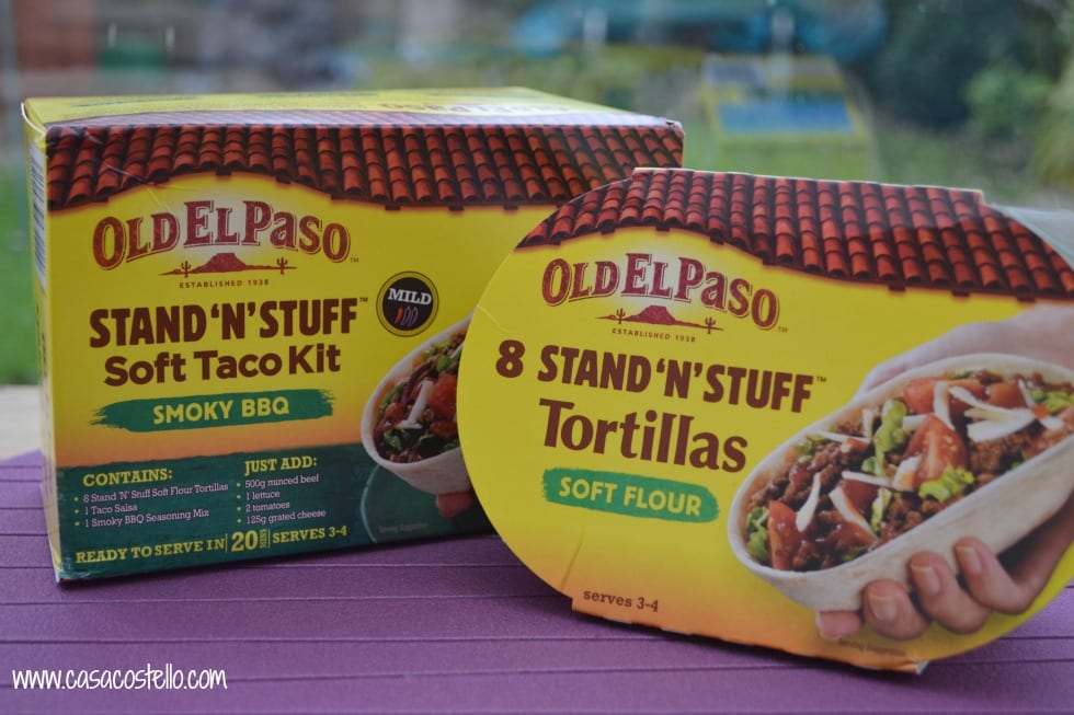 Stand n Stuff Tacos Old El Paso
