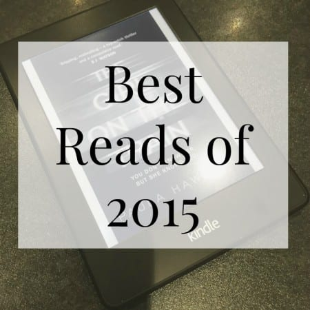 Best Reads of 2015 & Reading Goals for 2016
